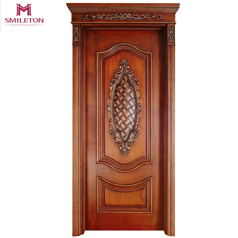 Smileton Modern Latest Design Solid Interior Wooden Doors