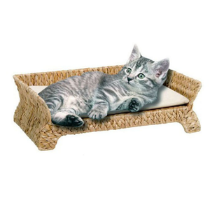 Kat Klimrek Bananenblad Stro Kat Krabben Board Pet House Cat Bed