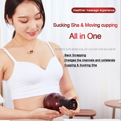 gua sha scraping massage tool chinese cupping Suction Machine Chinese Traditional Therapy Gua Sha Massage cupping machine Tool