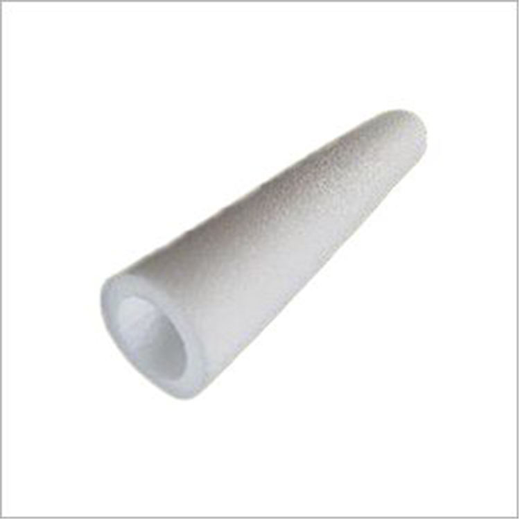 Customized white epe eva foam roll 1-4mm eva notty tube,round pe polyurethane foam tube