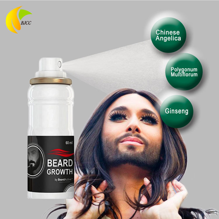 2020 OEM ธรรมชาติ Organic Facial Hair Beard Growth
