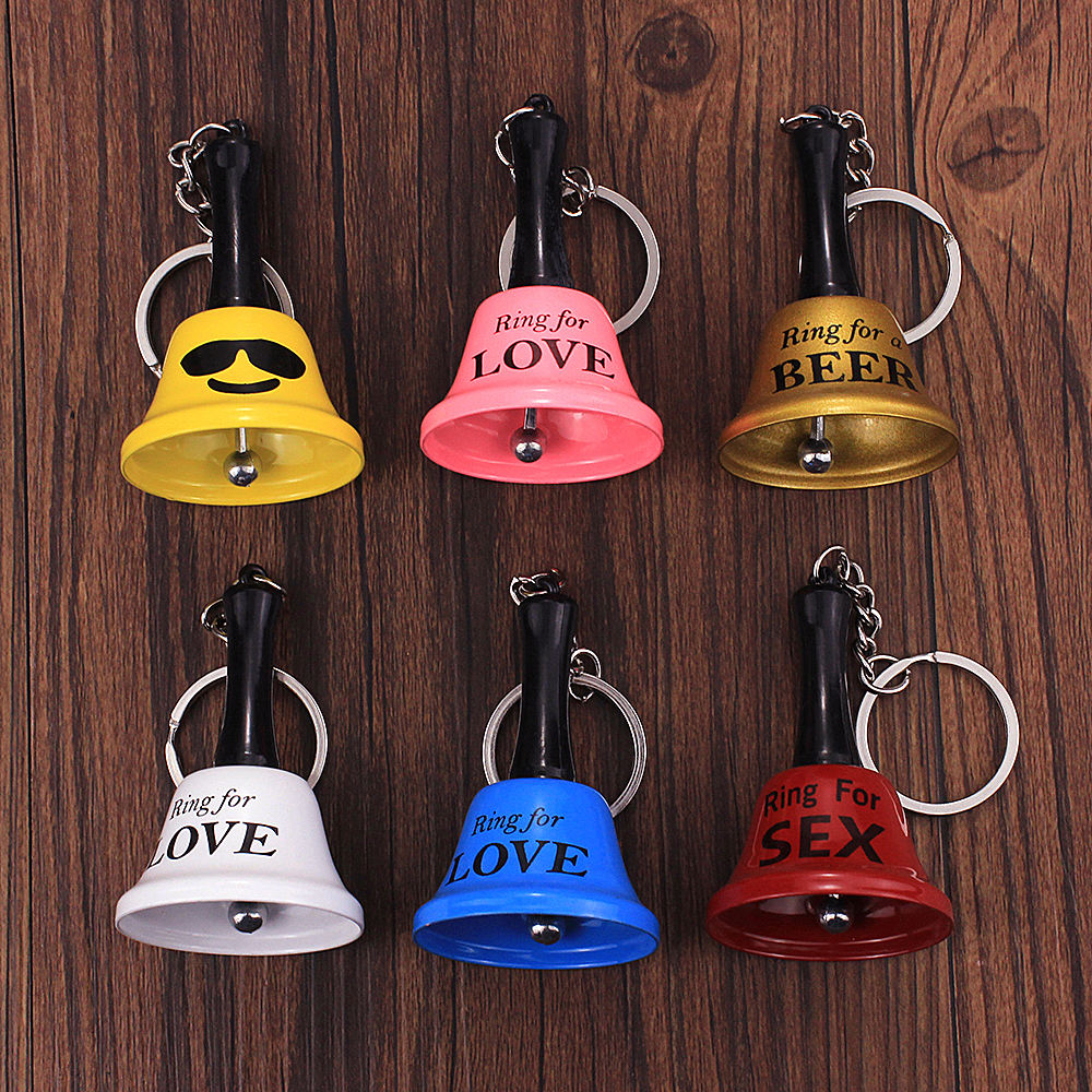 Amazon Hot Sale Bell Keychain Nautical Keyring Ring For Love