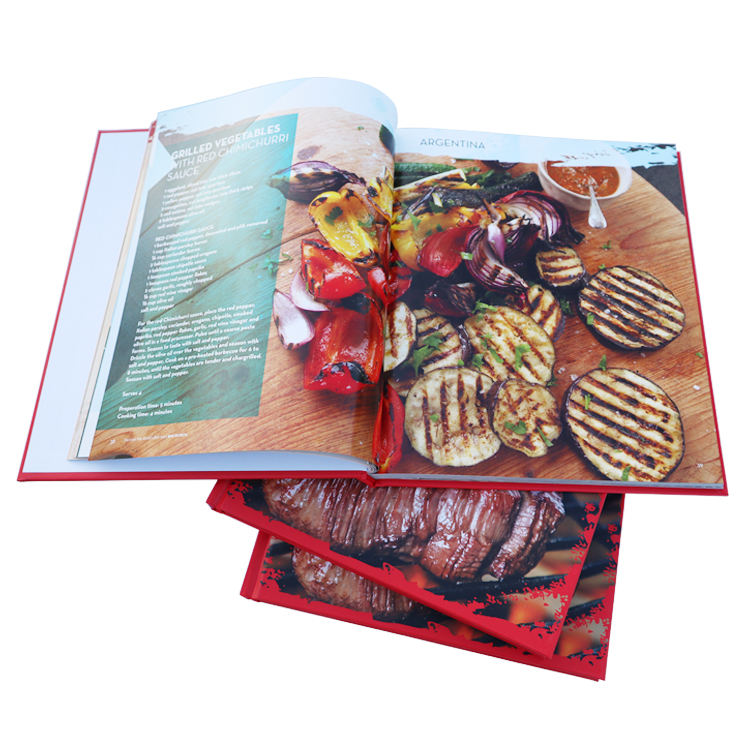 Custom Catalogue Book With Hardcover Book Printing For The Business Promotion