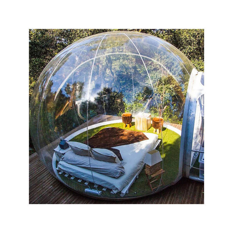 Popular Inflatable Tent Bubble Camping Clear Dome for Camping On Sale