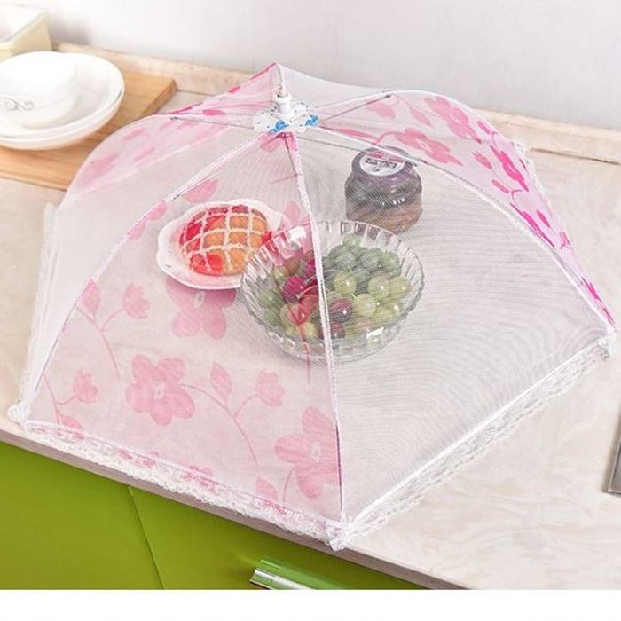 Customized Label Pop Up Decorative Mesh Screen Tent Food Cover