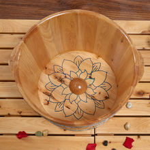 Wooden Foot Tub Foot Spa Wooden Foot Basin Barrel