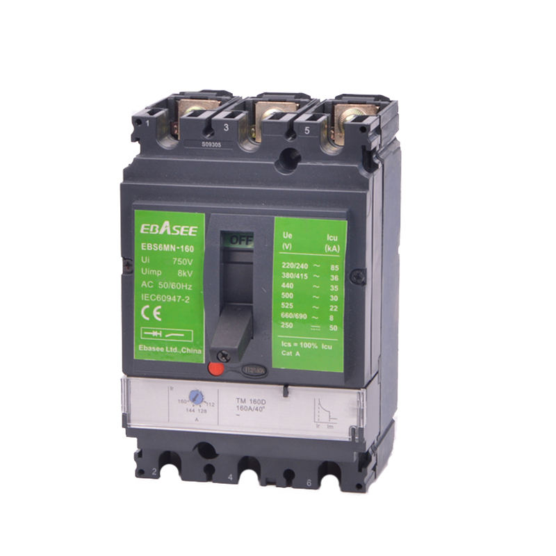 Drei Phase Form Fall Circuit Breaker 250amp MCCB DC 1500 v Breaker Serie