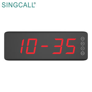 SINGCALL fast food restaurant table buzzer system