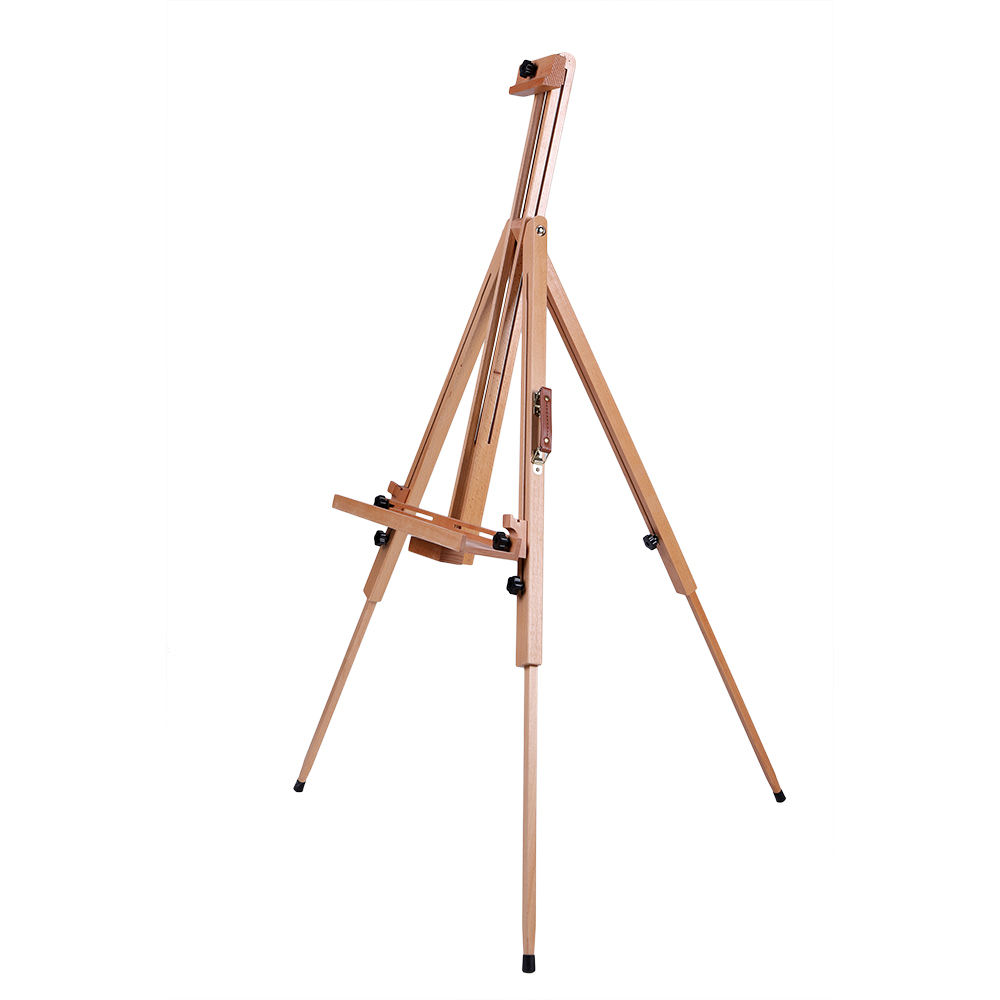 High quality artist's studio high quality tripod wooden art easel