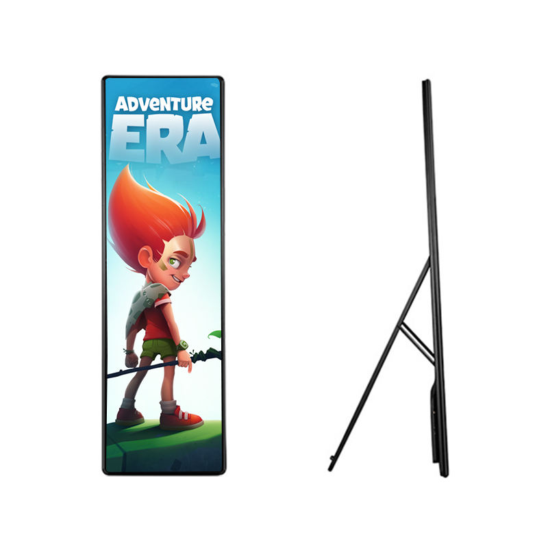 P1.875 Indoor Draagbare Digitale LED Poster Display Reclame Display