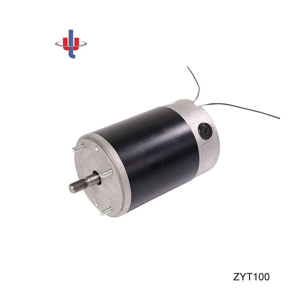 12V, 100W, 30NM High Torque Brushed DC Gearbox Motor