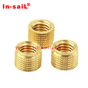 In-sail MB type thread inserts Cold pressed copper nuts hot melt copper nuts Plastic special copper nuts custom