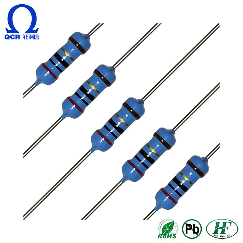 100pcs 1//4w Watt 680 ohm 680ohm Metal Film Resistor 0.25W 680R 1/%