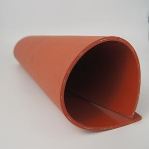 Heat resistant soft silicone rubber sheet