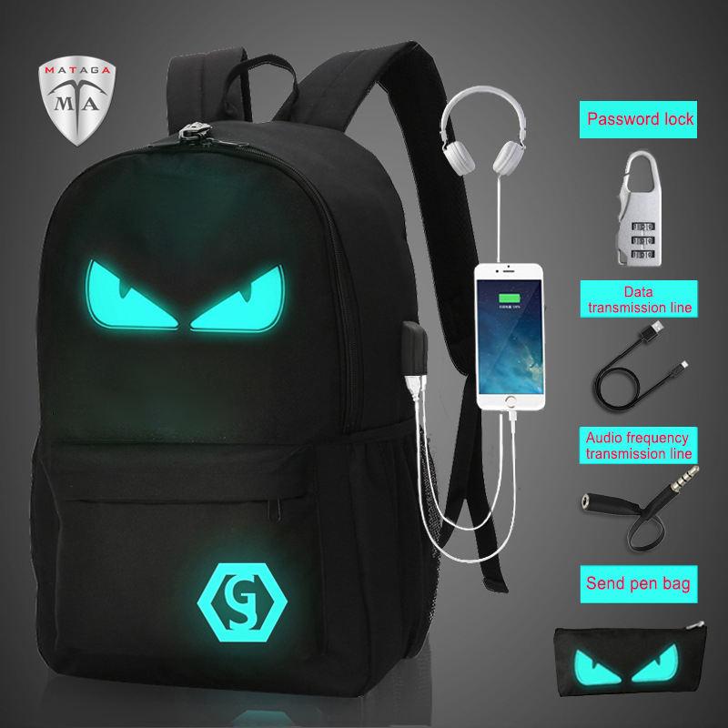 WHJY Backpack 3 PCS//Set Shiny Black Art Africa Kids School Bag for Child Casual Book Bag Student Pen Pencil Bag