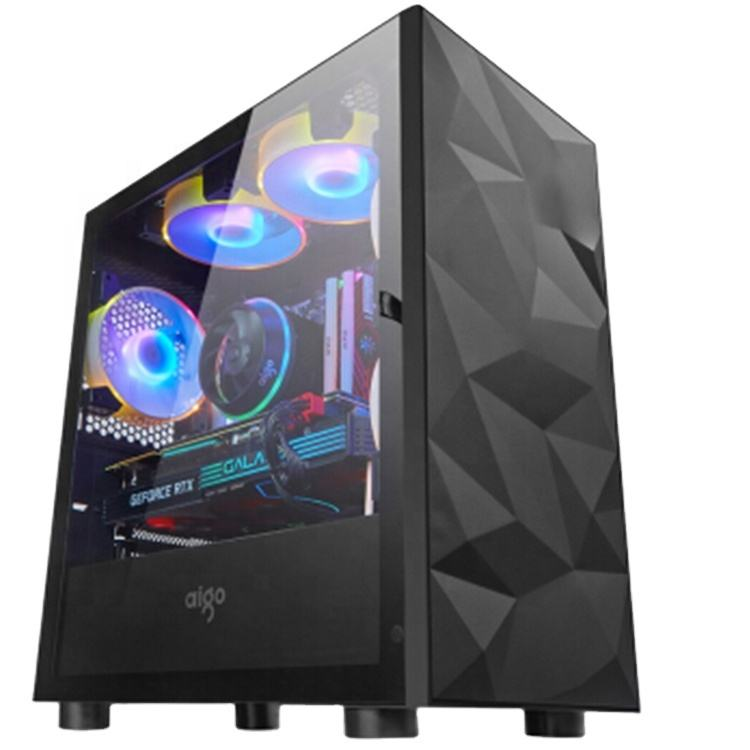 Low price stock products OEM ODM Core i7 i5 16GB Ram GTX 1060 6GB video card cheap price system unit desktop gaming computer PC