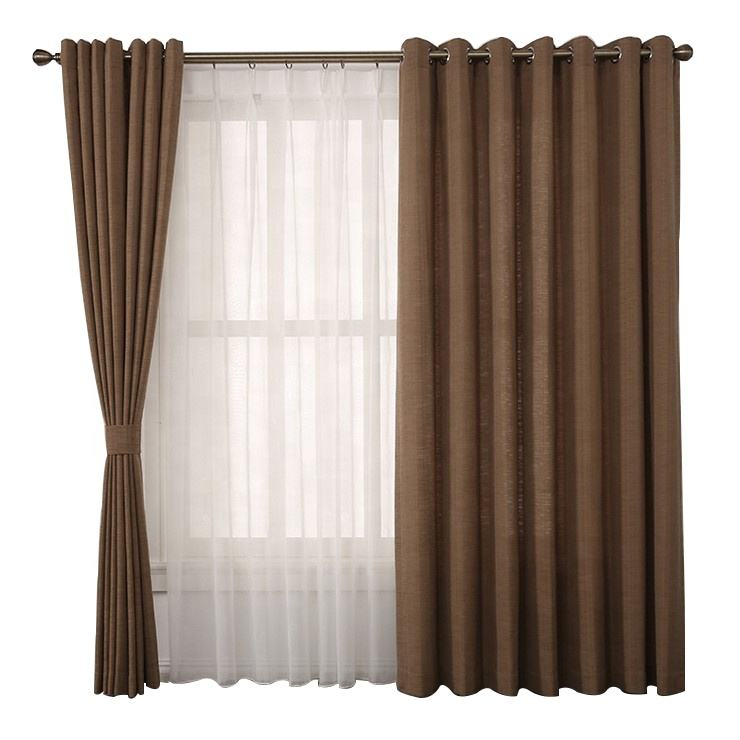 Yongshun no MOQ custom made fabric textile curtain for windows