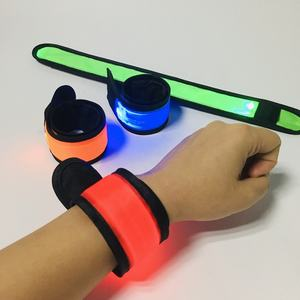 LED pulsera luces de banda para luz LED Slap brazalete