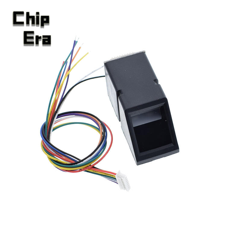 AS608 Fingerprint Reader Sensor Modul Optische Fingerprint Fingerprint Modul Für Arduino Schlösser Serielle Kommunikation Interface