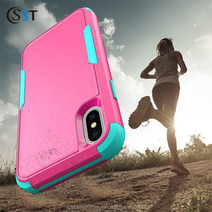 Soft TPU Back Cover Cell Phone Case for iPhone X/XS