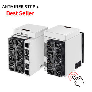 Bitmain Antminer S17+ T17+ SHA256 7nm Antminer S17 Pro 50T 53T 56T 2094W with Power Supply new bitmain antminer s17 pro t17 53th
