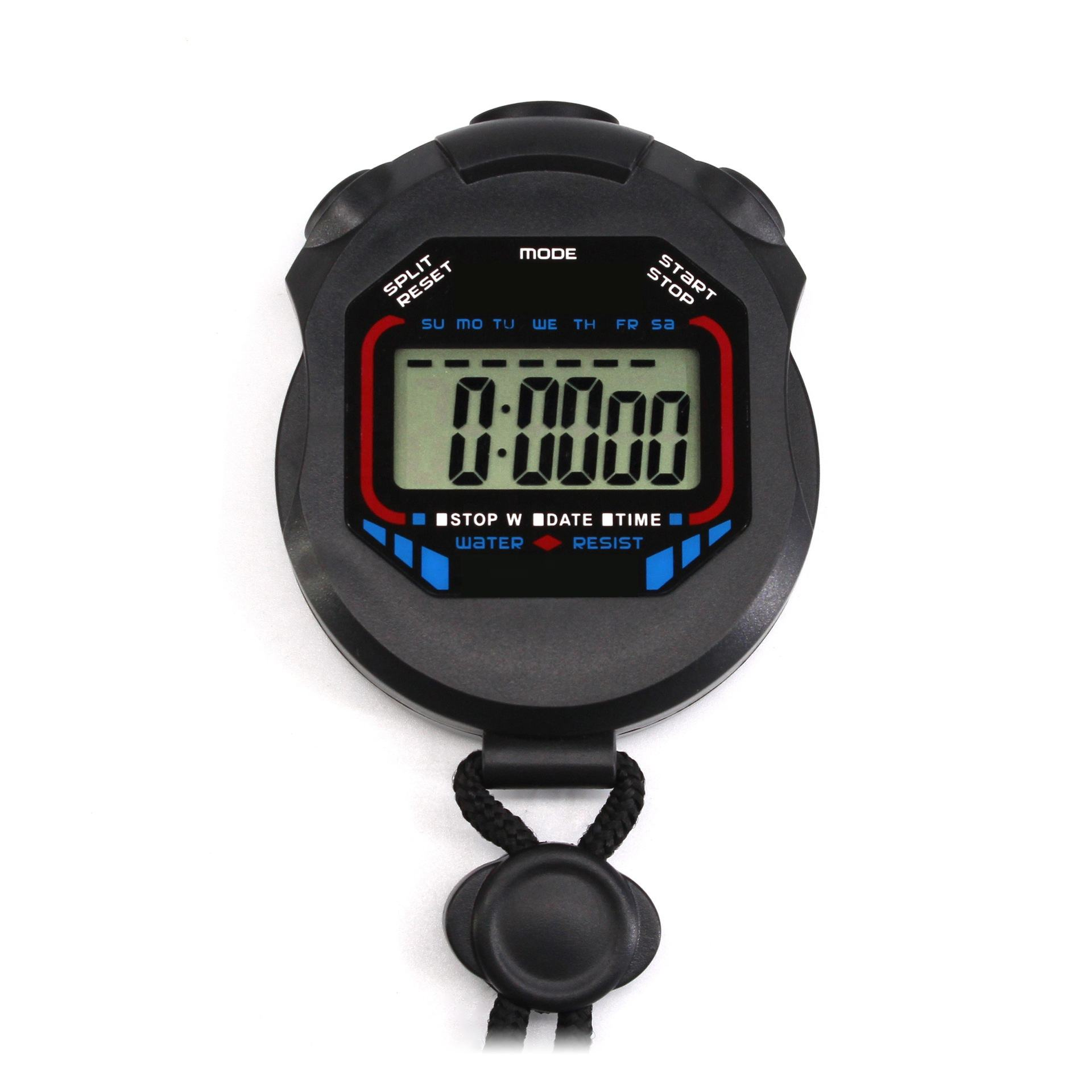 Kid Custom Logo Nurse Hospital Bike Bicycle Sport Water Resistant Hand Coach Waterproof Digital Time Stopwatch Timer Stop Watch