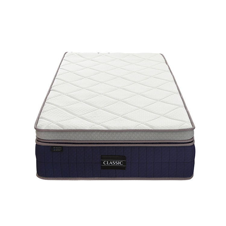 Latex Pure Doos Top Design Matras Gel Memory Foam 12 Inch Vierkante Kingsize Matras In Een Doos