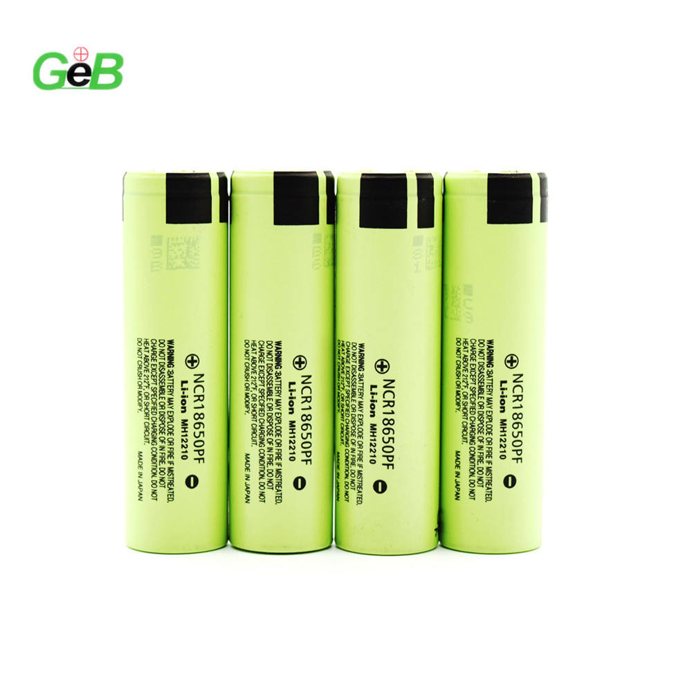 Factory Branded Cell 100% Original NCR18650PF 3.7v 2900mAh Deep Cycle Bulk Order Lithium ion GEB18650 Rechargeable Battery