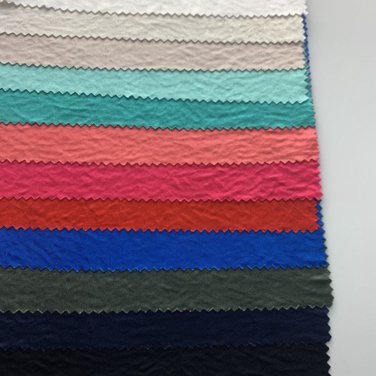 Fabric Manufacturer Shaoxing Textiles Custom Knitting 100% Polyester Satin Silk Fabric Dress For Sleepwear Fabric