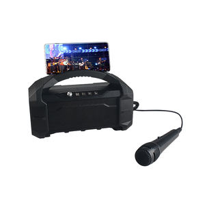 Hot Menjual Bass Hi Fi Wireless Karaoke Bluetooth DJ Speaker dengan Radio