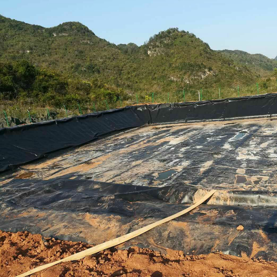 Supplier Geomembrane Affordable 2mm HDPE Geomembran Fiyat