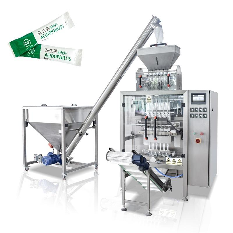 High Quality Multi-lane Automatic Stick Probiotics Powder Packaging Machine