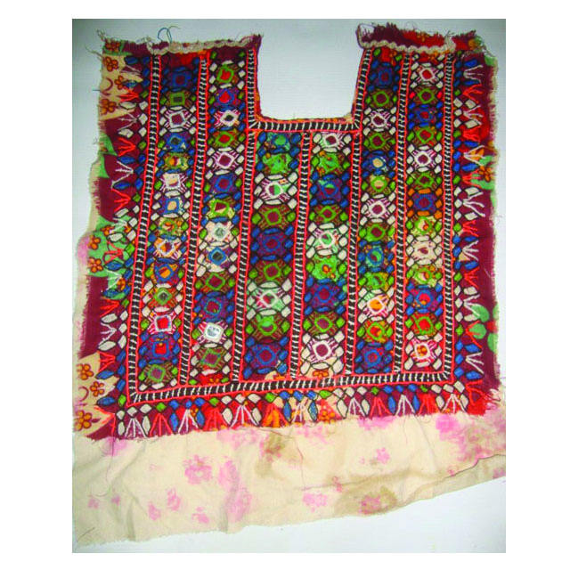 Afegão tribal banjara baloch Jugo Do Pescoço do vintage Do Espelho Bordado Applique Patch Costura craft, jugo do pescoço ALINNY0015