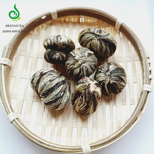 Wholesale Handmade Fresh Beauty Globe Amaranth Jasmine Tea Flower Blooming Tea Ball