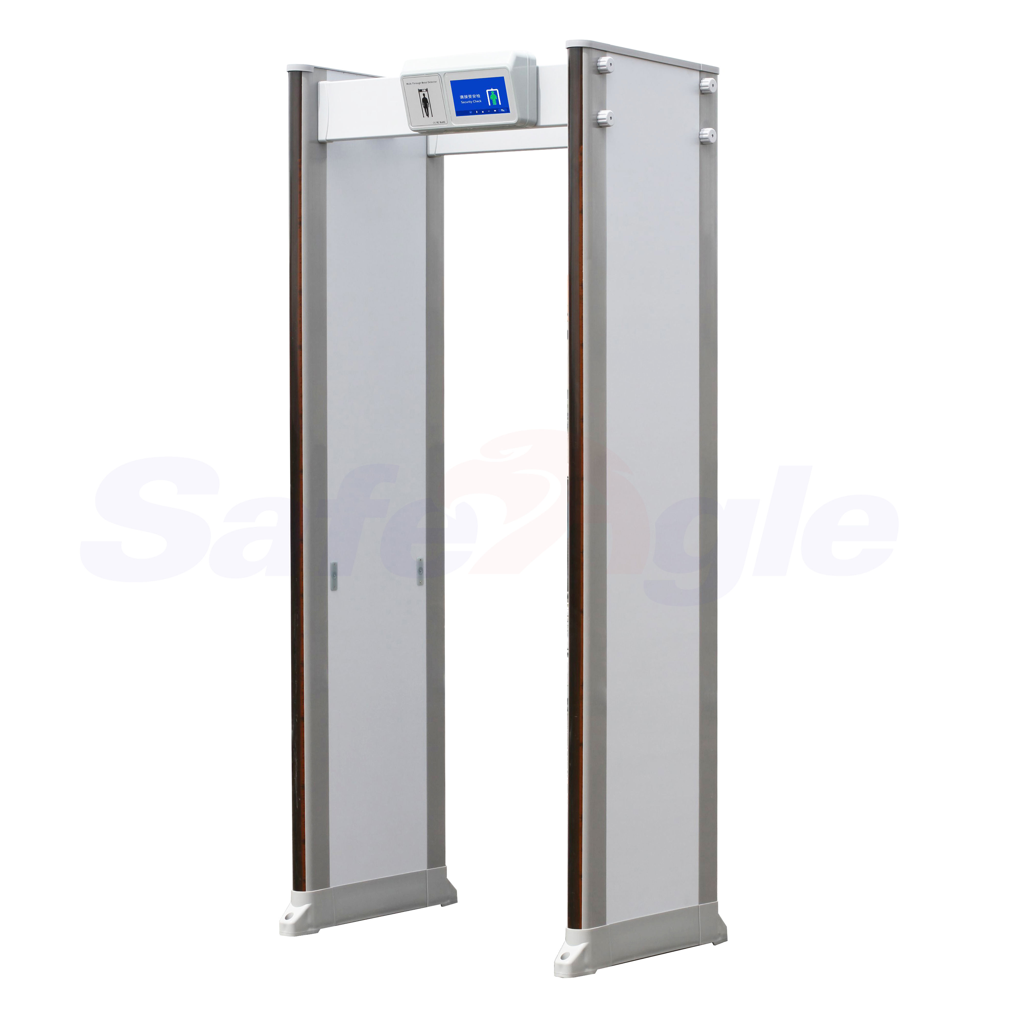 Safeagle Portable High Quality Used RoHS 33 Zone Walk Through Metal Detector Price for Sales