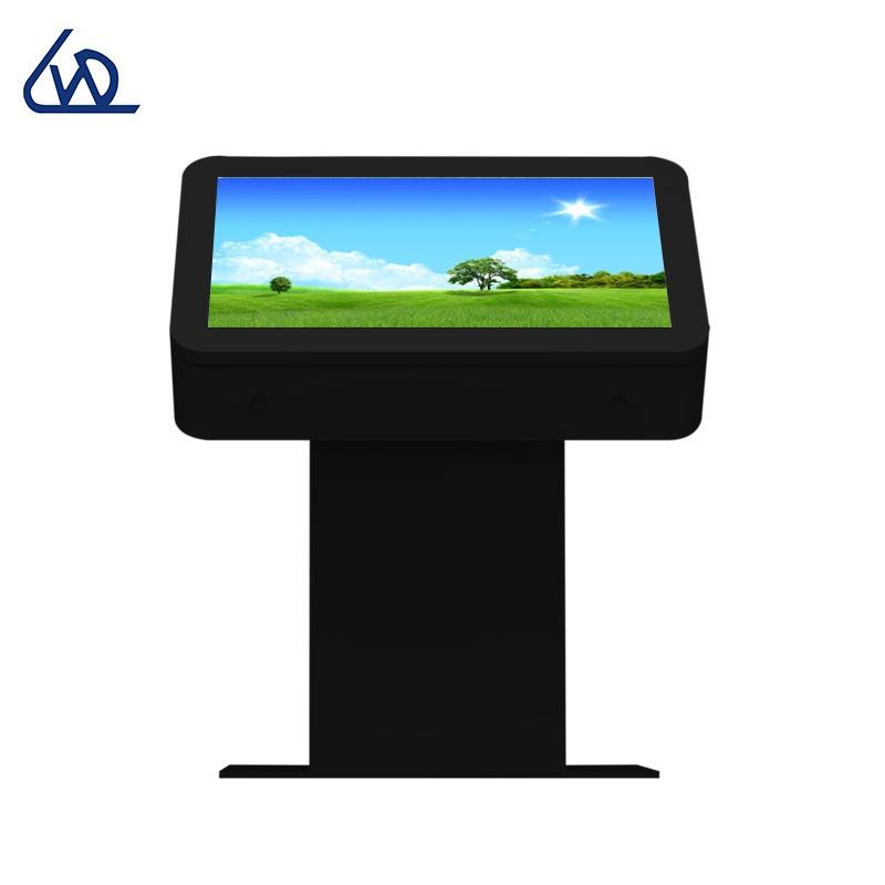 outdoor signage digital video player kiosk outdoor touch screen Lcd advertising light box display table