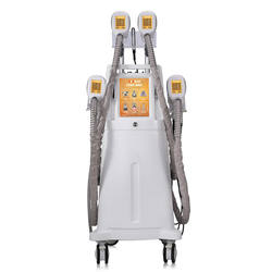 New arrival 8 in 1 Cryolipolysis Slimming Machine with 4 cryo handles+Cavitation+Vacuum+RF+Lipolaser Beauty Equipment