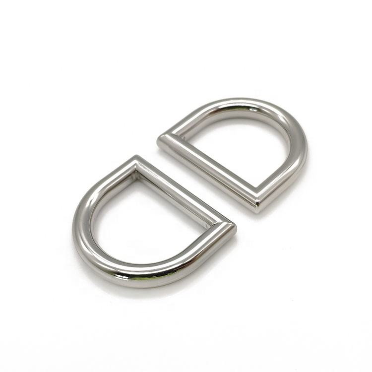 Wholesale 19MM Metal Round D Ring Buckles for Leather Accessories