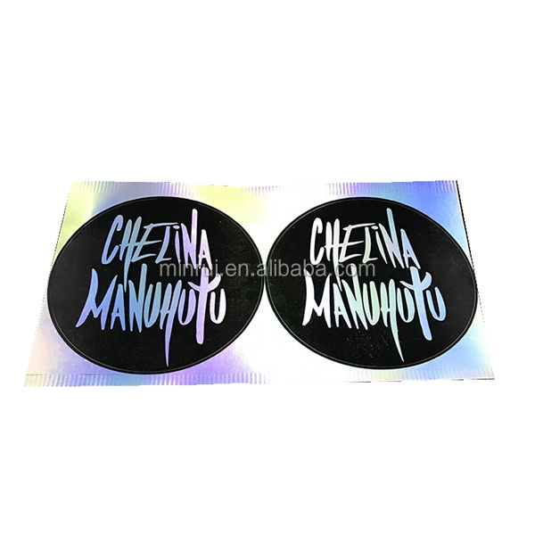 High Quality Custom Anti-Fake Security Void Seal Label Hologram Eggshell Sticker