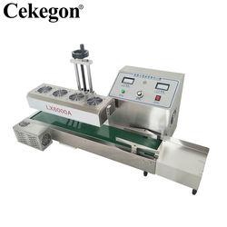 Cekegon LT-6000A Automatic Continuous Plastic Bottle Heat Sealing Electromagnetic Induction Aluminum Foil Sealing Machines