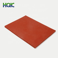 Closed Cell Insulation Heat Resistant Foaming Silicone Sponge Rubber  Sheet