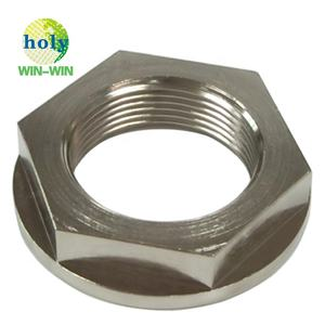 High Quality Chroming Coating Zinc Plated Carbon Steel Ss Steel CNC Machining for Hex Bolt and Flange Nut Screw Fastener