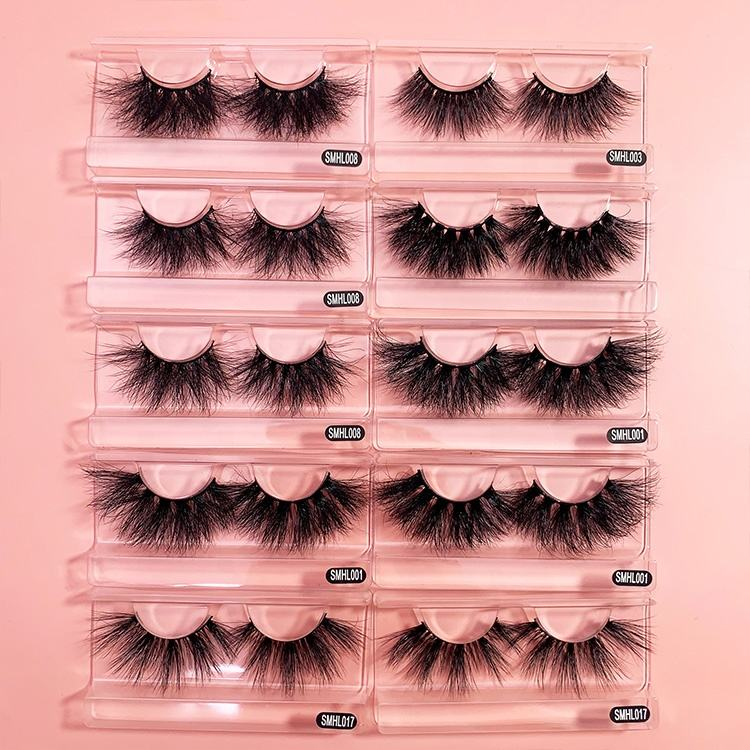 Tstory 2020 New Styles Full Strip Lashes Real 25mm Mink Eyelashes Vendor