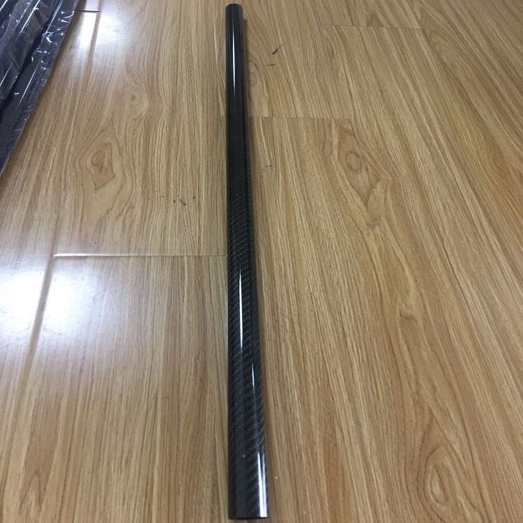 Light weight 3K Glossy Carbon fiber tube for paddle