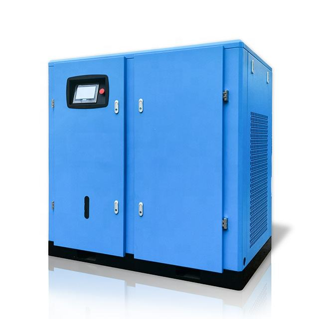22kw 30hp 10bar 220v high pressure electric rotary belt driven mini machines industrial screw type price air compressor