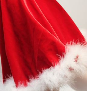 Wholesale Kids Christmas Party Dresses Santa Claus Costume Tutu Christmas Dress For Girls