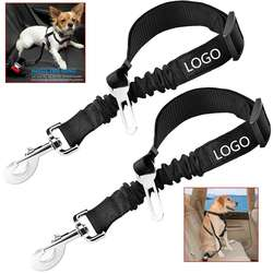 Dog Seat Belt Pet Dog Cat Car Seatbelt Safety - Adjustable H