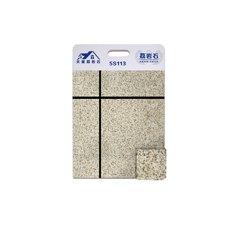 thinner & lighter 5S water based granite flakes for exterior wall paint