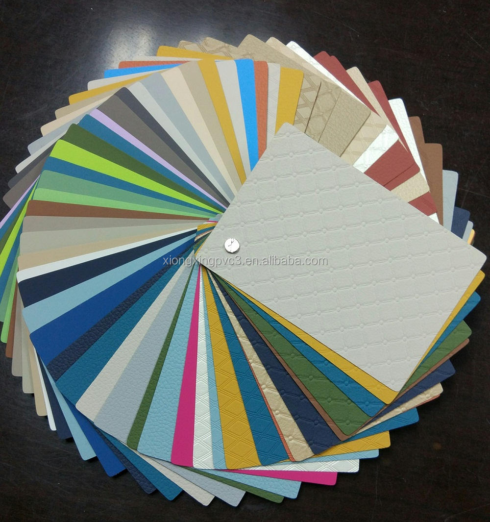 Soft-touch and Anti-scratch Solid Colors PVC Decorative Plastic Sheet for Furniture