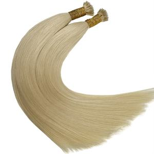 Double Drawn Color Blonde Russian Remy Micro Nano Ring Hair Extensions